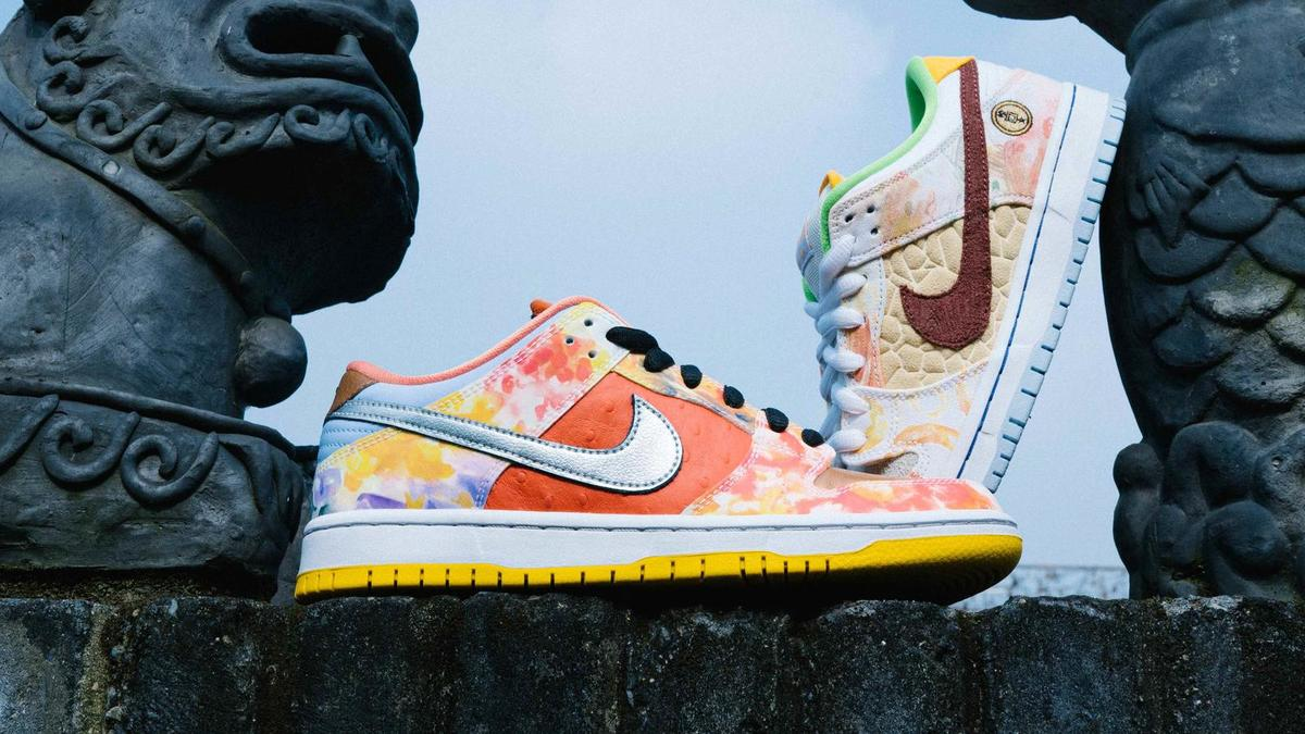 Celebrate Chinese New Year with Nike SB's New Dunk Low Street Hawker